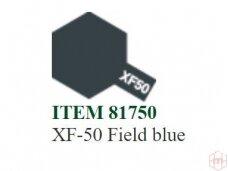 Tamiya - XF-50 Field blue, 10ml