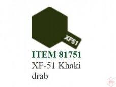 Tamiya - XF-51 Khaki drab, 10ml