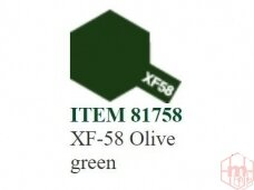 Tamiya - XF-58 Olive green, 10ml