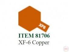 Tamiya - XF-6 Copper, 10ml