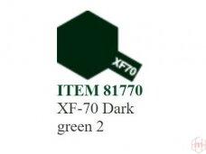 Tamiya - XF-70 Dark green 2, 10ml