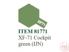 Tamiya - XF-71 Cockpit green (IJN), 10ml
