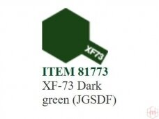 Tamiya - XF-73 Dark green (JGSDF), 10ml