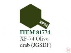 Tamiya - XF-74 Olive drab (JGSDF), 10ml