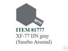Tamiya - XF-77 IJN gray (Sasebo Arsenal), 10ml
