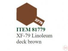 Tamiya - XF-79 Linoleum deck brown, 10ml