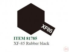 Tamiya - XF-85 Rubber black, 10ml