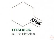 Tamiya - XF-86 Flat clear, 10ml