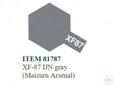 Tamiya - XF-87 IJN gray (Maizuru Arsenal), 10ml