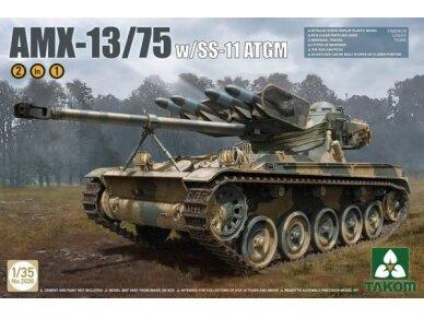 Takom - AMX-13/75, Mastelis: 1/35, 2038