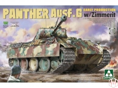 Takom - Panther Ausf.G Early Production with Zimmerit, 1/35, 2134