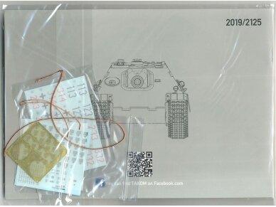 Takom - Jagdpanther G1 Early Production su zimmerit ir interjeru, Mastelis: 1/35, 2125 13