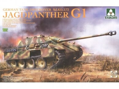 Takom - Jagdpanther G1 Early Production w/zimmerit & full interior, Scale: 1/35, 2125