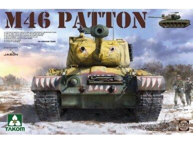 Takom - M46 Patton, Mastelis: 1/35, 2117