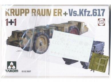 Takom - Krupp Räumer + Vs.Kfz. 617, Scale: 1/72, 5007 4