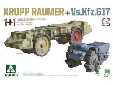 Takom - Krupp Räumer + Vs.Kfz. 617, Scale: 1/72, 5007