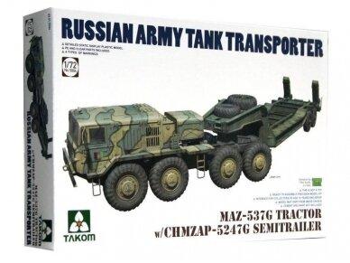 Takom - MAZ-537G Tractor w/ CHMZAP-5247G Semitrailer, Scale: 1/72, 5004