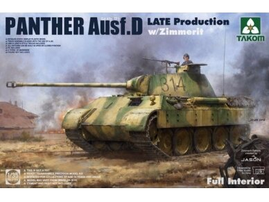 Takom - Panther Ausf. D Late Production, Mastelis: 1/35, 2104