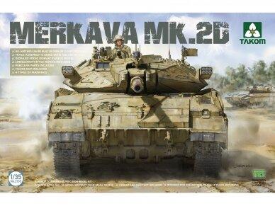 Takom - Merkava 2D Israel Defence Forces Main Battle Tank, Scale: 1/35, 2133
