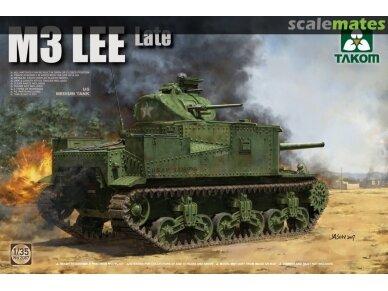 Takom - US Medium Tank M3 Lee (Late), Mastelis: 1/35, 2087