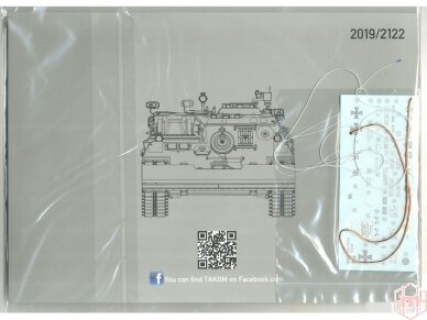 Takom - Bergepanzer 2 Standard, 1/35, 2122 7