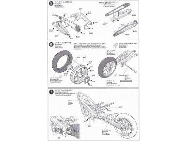 Tamiya - Ajinomoto Honda NSR 250, Mastelis: 1/12, 14110 15