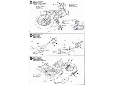 Tamiya - Ajinomoto Honda NSR 250, Mastelis: 1/12, 14110 16