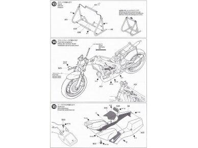 Tamiya - Ajinomoto Honda NSR 250, Mastelis: 1/12, 14110 18