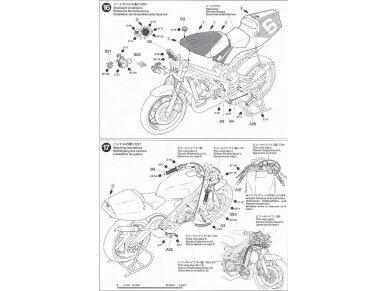 Tamiya - Ajinomoto Honda NSR 250, Mastelis: 1/12, 14110 19