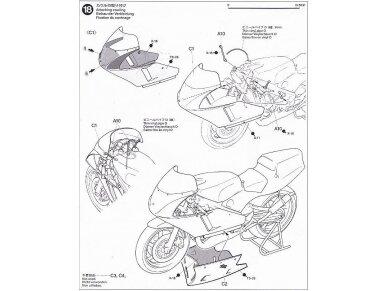 Tamiya - Ajinomoto Honda NSR 250, Mastelis: 1/12, 14110 20