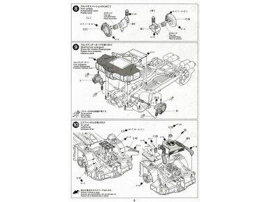 Tamiya - Alfa Romeo 155 V6 TI, Scale: 1/24, 24137 13