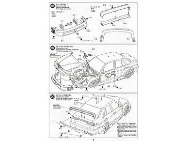 Tamiya - Alfa Romeo 155 V6 TI, Scale: 1/24, 24137 17