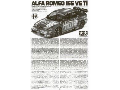 Tamiya - Alfa Romeo 155 V6 TI, Scale: 1/24, 24137 3