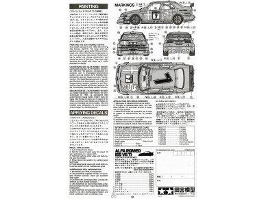 Tamiya - Alfa Romeo 155 V6 TI, Scale: 1/24, 24137 9