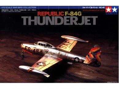 Tamiya - Republic F-84G Thunderjet, Scale:1/72, 60745
