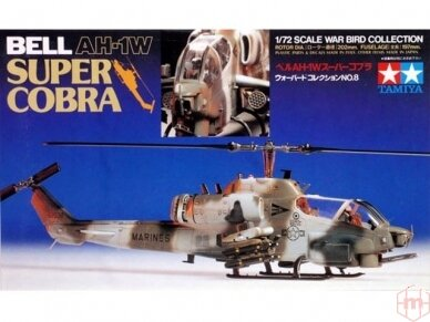 Tamiya - Bell AH-1W Super Cobra, Mastelis:1/72, 60708