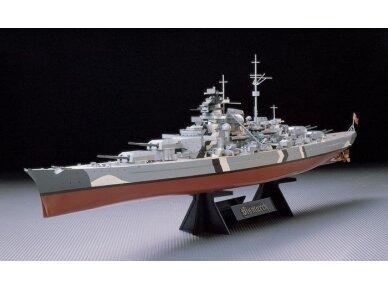 Tamiya - Bismarck German Battleship, Mastelis: 1/350, 78013 2