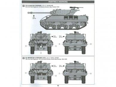 Tamiya - British Tank Destroyer M10 II C 17pdr SP Achilles, Scale: 1/35, 35366 12