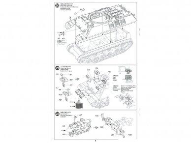 Tamiya - British Tank Destroyer M10 II C 17pdr SP Achilles, Scale: 1/35, 35366 19