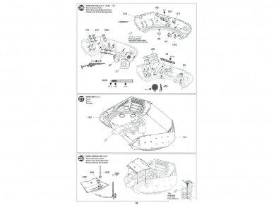 Tamiya - British Tank Destroyer M10 II C 17pdr SP Achilles, Mastelis: 1/35, 35366 21