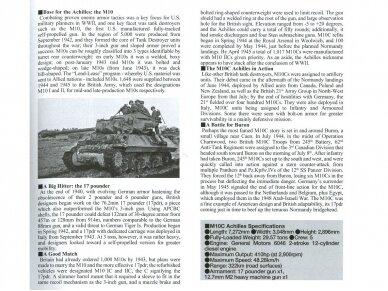 Tamiya - British Tank Destroyer M10 II C 17pdr SP Achilles, Scale: 1/35, 35366 4