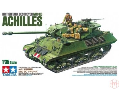 Tamiya - British Tank Destroyer M10 II C 17pdr SP Achilles, Scale: 1/35, 35366
