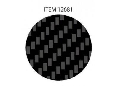 Tamiya - Anglies pluošto (Carbon Fiber) dekalė austinė vija, smulkus, 12681