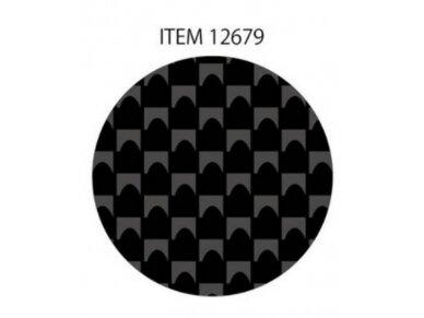 Tamiya - Anglies pluošto (Carbon Fiber) dekalė paprasta vija, smulkus, 12679