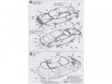 Tamiya - Castrol Celica Toyota GT-Four, Mastelis: 1/24, 24125 12