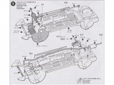 Tamiya - Castrol Celica Toyota GT-Four, Mastelis: 1/24, 24125 7