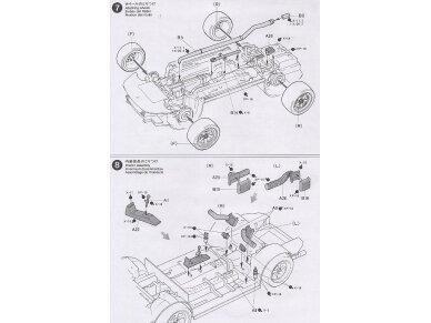 Tamiya - Castrol Toyota Tom's Supra GT, Mastelis: 1/24, 24163 11