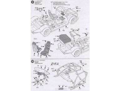 Tamiya - Castrol Toyota Tom's Supra GT, Mastelis: 1/24, 24163 12