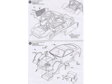 Tamiya - Castrol Toyota Tom's Supra GT, Mastelis: 1/24, 24163 13