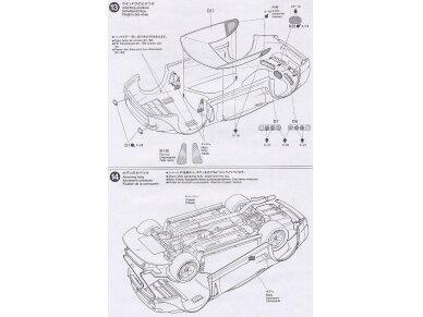 Tamiya - Castrol Toyota Tom's Supra GT, Mastelis: 1/24, 24163 14